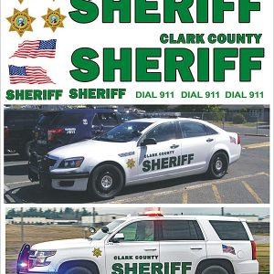 Clark County Sheriff, Washington – Tahoe, Taurus, Explorer