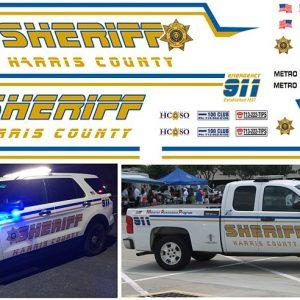 Harris County Sheriff, Texas – Explorer & Pickup