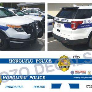 Honolulu Police Hawaii Explorer