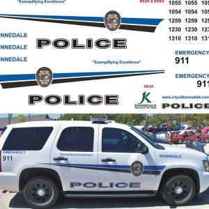 Kennedale Police, Texas – Tahoe & Explorer