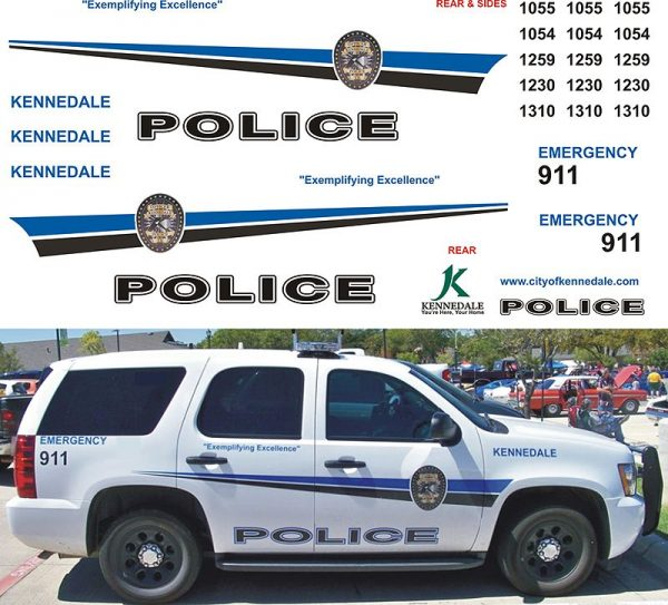 Kennedale Police Texas Explorer & Tahoe