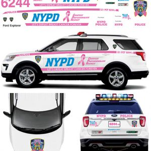 New York Police (NYPD) Pink Support for Breast Cancer – Explorer