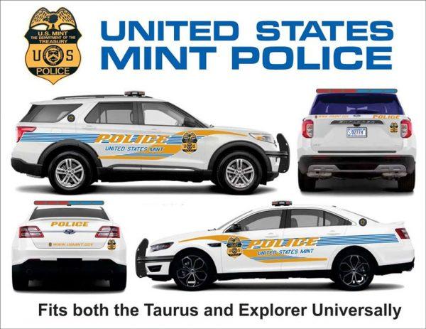 United States Mint Police Explorer and Taurus