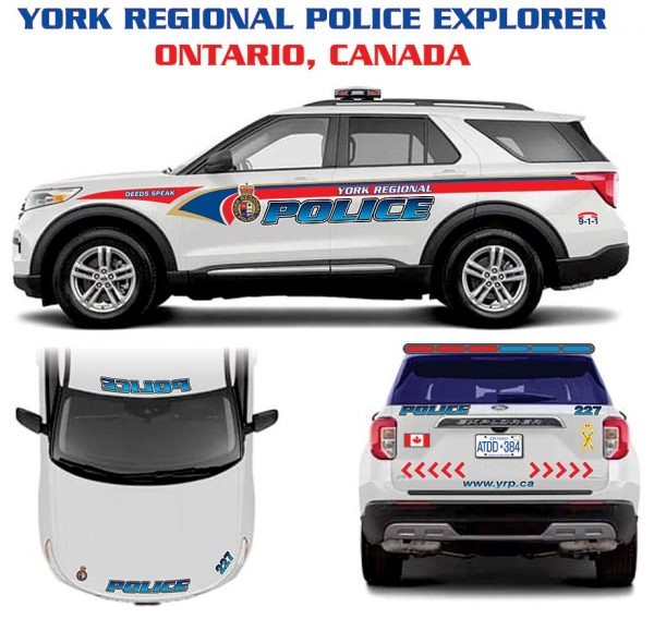 York Regional Police Explorer