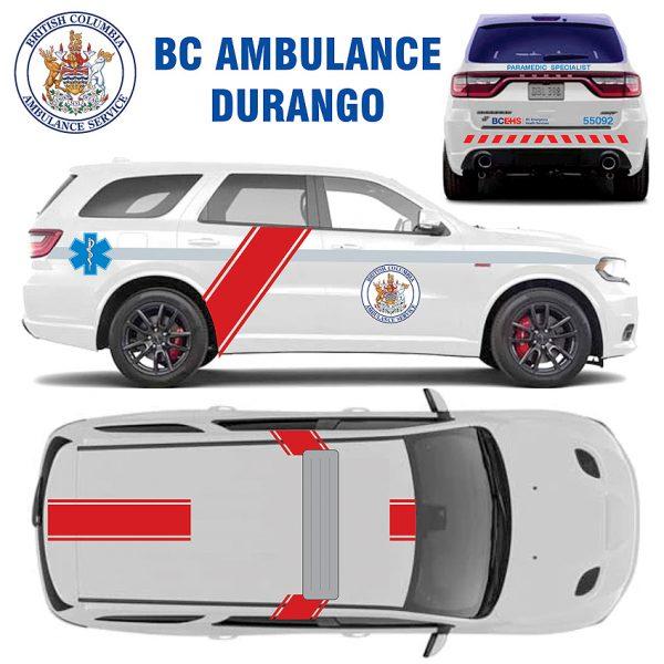 BC Ambulance Durango