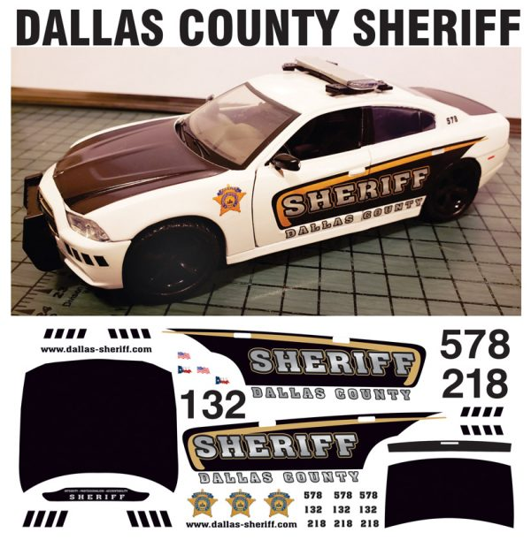 Dallas County Sheriff Charger