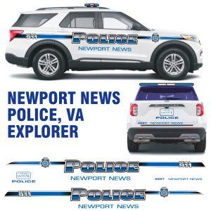Newport News Police Explorer