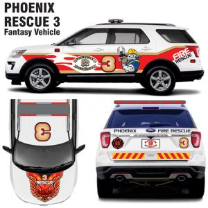 Phoenix Fire Rescue 3 (Fantasy Vehicle) – Explorer