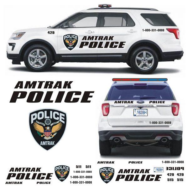 Amtrak Police Explorer