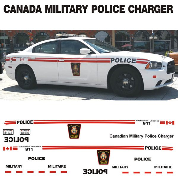 Canada Military Police Charger