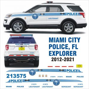 Miami City Police Fl (Florida) – Explorer