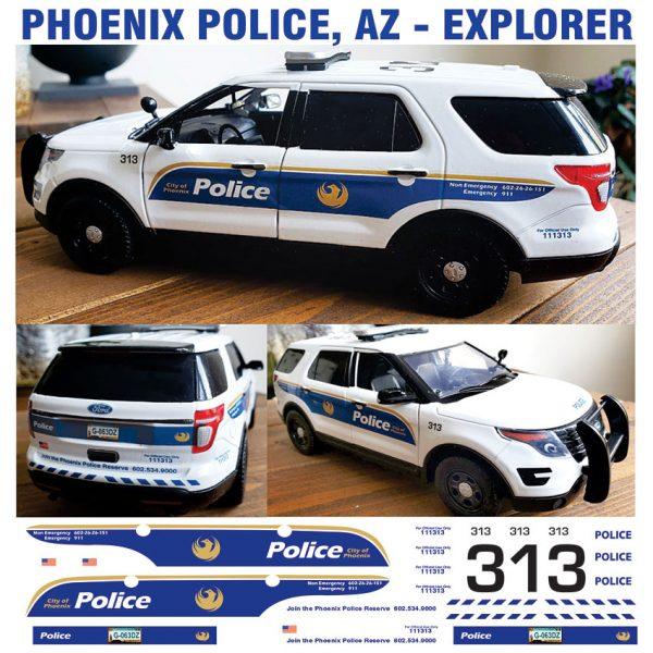 Phoenix Police AZ Explorer