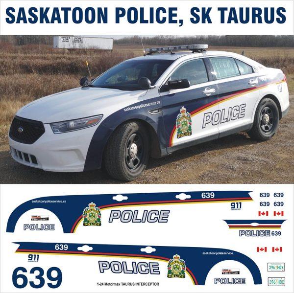 Saskatoon Police SK Taurus