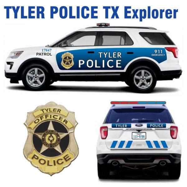 Tyler Police TX Explorer