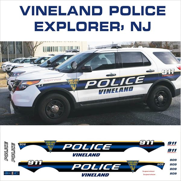 Vineland Police NJ Explorer