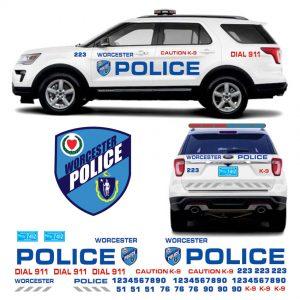 Worcester Police MA Explorer