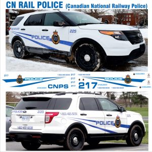Canadian National Railway Police ( CN RAIL POLICE ) – Explorer