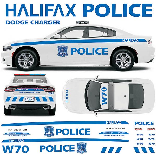 alifax Regional Police Charger