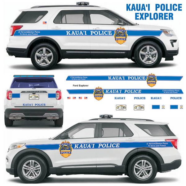 Kauai Police Explorer