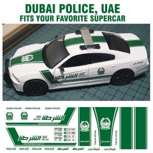 Dubai Police, UAE – Fits multiple makes of Supercars