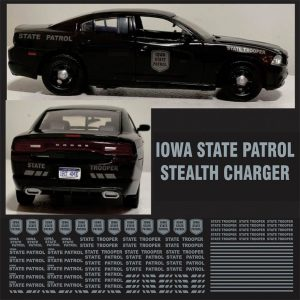 Iowa State Patrol – Stealth Charger